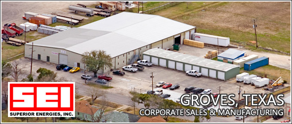 SEI Groves, Texas Corporate Sales and Insulation Manufacturing Facility
